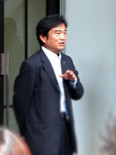 20131020鳥取戦大塚社長