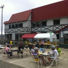 私設カレー20131006CAAD10グランフォンド糸魚川第三エイドステーション