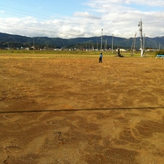 20131022公園で野球