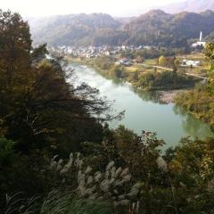 20131102CAAD10栄村70kmライドトンネル回避コース
