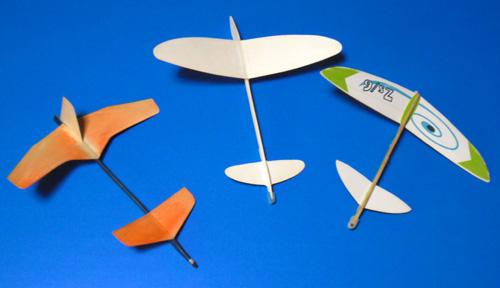 先尾翼集2+頂き物の機体。