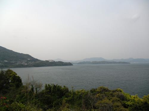 大村湾の絶景・・・のはずのポイント1