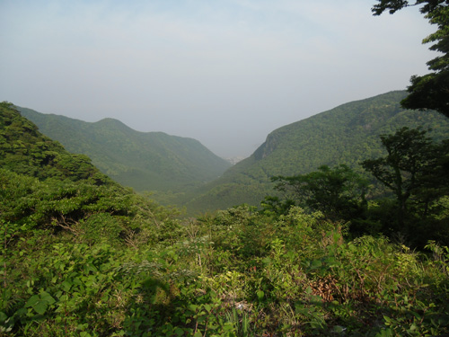雲仙の峠からの景色1