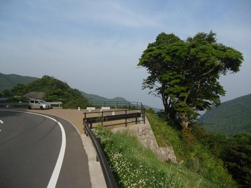 雲仙の峠からの景色2