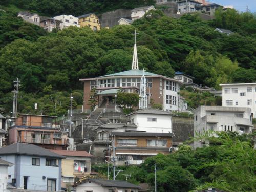 青空と教会1
