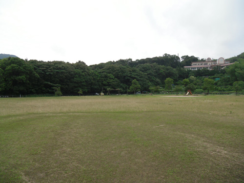 夕方の片渕公園3