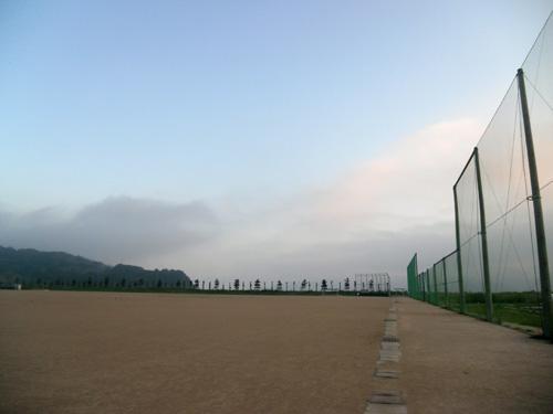霧が出てる1