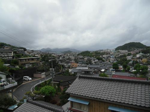 雨のお散歩1