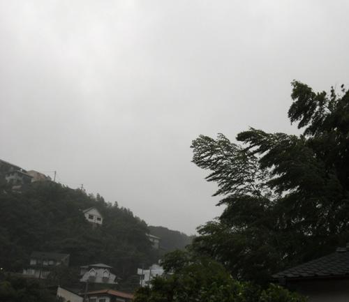 台風っぽいでしょ?
