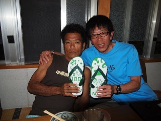 20130716打上げ幸男さん&恒