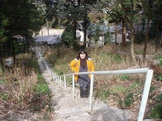 20090310吉備津神社直美階段