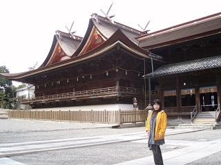 20090310吉備津神社直美本殿