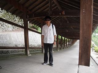 20130729吉備津神社恒明回廊