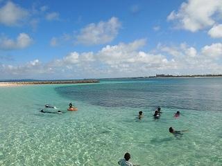 20130824クリマビーチ遊ぶ子供
