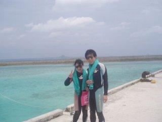 20100511水納島にて