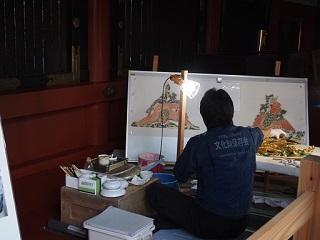 20190924日光陽明門修復作業