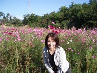 20061013三木コスモス畑直美