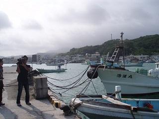 20110720沖縄NHK取材カメラ