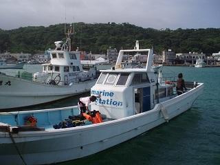 20110720沖縄アシビーブルー船