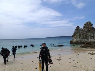 20131022沖縄本島本部ビーチ恒
