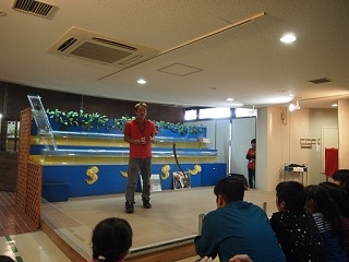 20131027沖縄南部ハブのショー