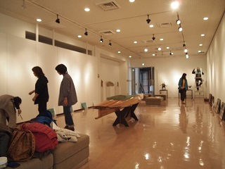 20131031京阪奈展示作業中