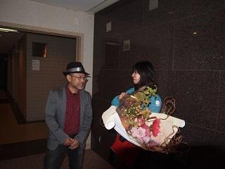 20131103京阪奈花束贈呈