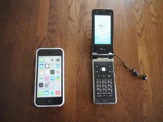 携帯からiphone