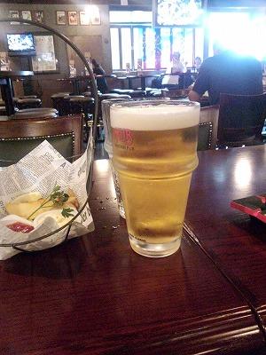 生ビール2杯目
