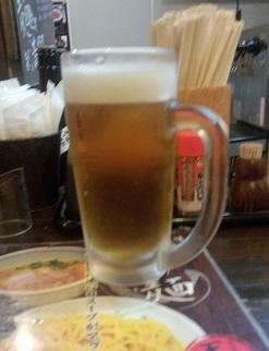 生ビール(てんよう)
