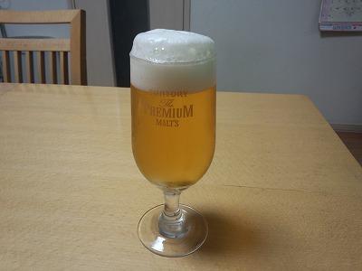 ビール完成