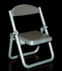 SKジャパン 折りたたみパイプ椅子 ブラック