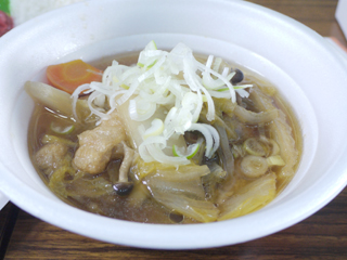 地鶏スープ