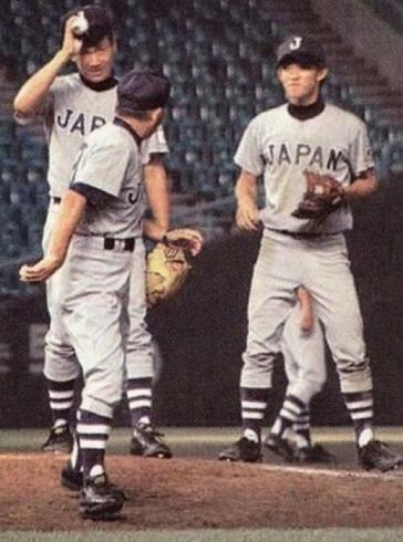 野球選手チン