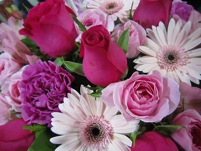 お祝いのお花ー