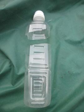 ペットボトルにウリハムシ2