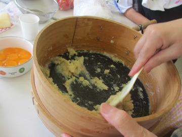 続々の芋苗植えと石鹸作り4