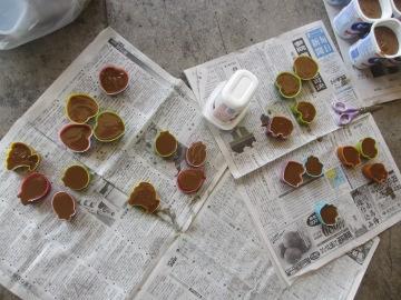 続々の芋苗植えと石鹸作り9