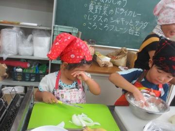 親子調理体験教室4