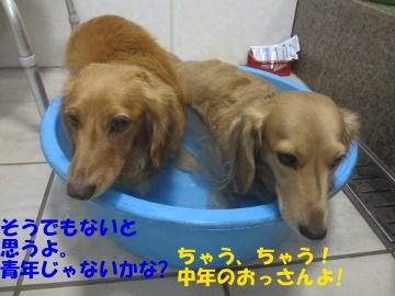 誕生日にお風呂11
