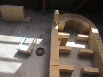 ピザ窯屋根11