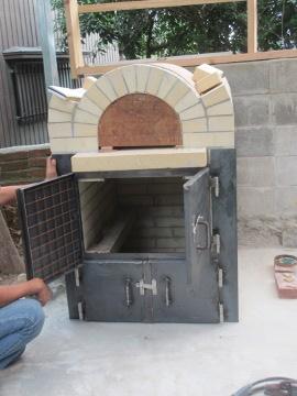 ピザ窯作り27