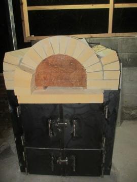 ピザ窯作り30