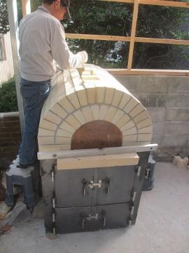 ピザ窯作り31
