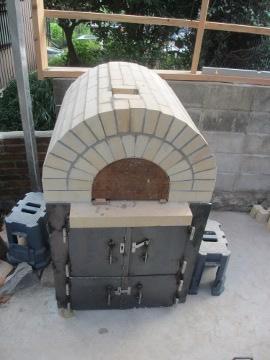 ピザ窯作り32