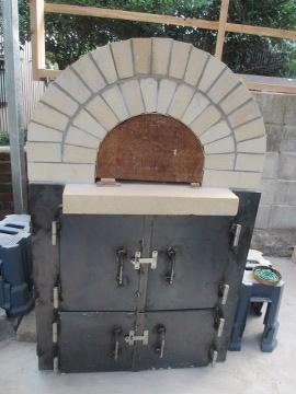 ピザ窯作り33