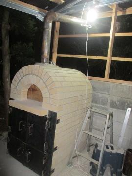 ピザ窯作り35