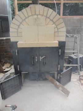 ピザ窯作り37