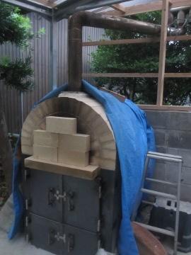 ピザ窯作り39