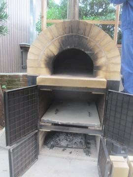 ピザ窯作り40